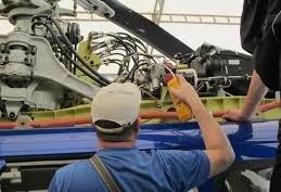Заправка кондиционера на вертолете
