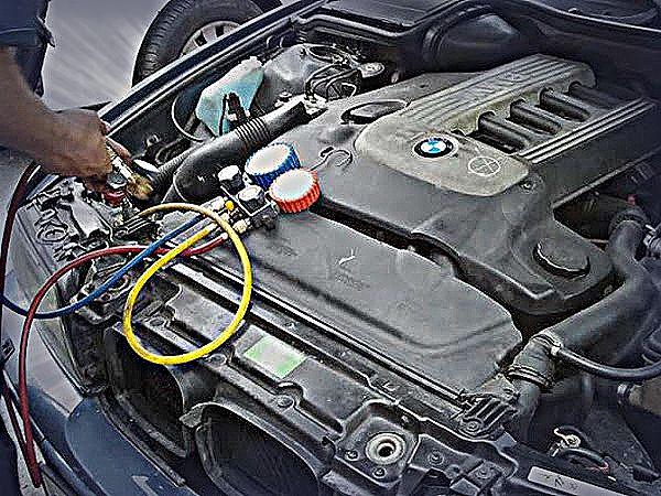 ремонт компрессора автокондиционера